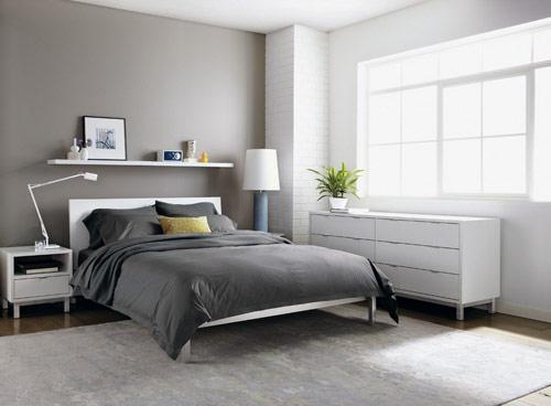 灰色的现代简约设计,别有一番风味!!
