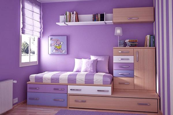 爱觉智能艺术壁材的卧室效果